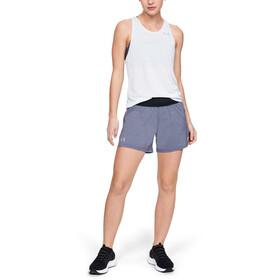 Under Armour Launch SW 5'' Shorts Women black full heather-black